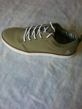 Original Penguin Men's Carlin Walking Canvas Sneakers Size 9.5 Olive