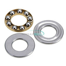 2PCS Model F8-16M 8 x16 x 5mm Miniature Thrust Axial Metal Ball Bearing