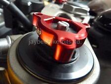 Gris pre- REGULADORES Rojo 22mm Suzuki Gsxr600 Gsxr750 RGV250 BENELLI TORNADO