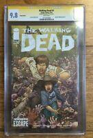 The Walking Dead #1 SDCC Escape Color Variant CGC SS 9.8 Signed Juan Jose Ryp