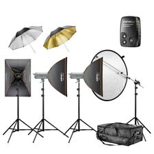 walimex pro VC Excellence Studioset Classic 6.5.5 2x500/600Ws+ Softboxen/Schirme