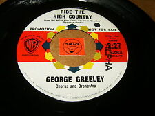 GEORGE GREELEY - RIDE THE HIGH COUNTRY - BEING IN LOVE - LISTEN - JAZZ POPCORN