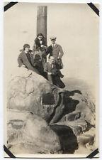 GROUP PHOTO EARLY TWENTIETH CENTURY WOMAN HOLDING CAMERA.