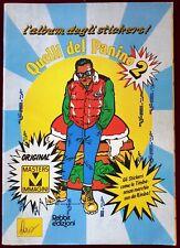 QUELLI DEL PANINO 2 ALBUM RABBIT PANINARO CON 43 FIGURINE ATTAC. ECCELLENTE POP