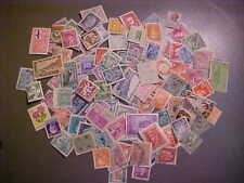 100 DIFFERENT VINTAGE STAMPS FROM 100 DIFFERENT COUNTRIES// COLLECTION - LOT