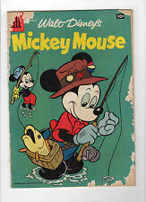 Mickey Mouse #59 (Apr 1958, Dell) - Good-