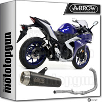 ARROW FULL SYSTEM EXHAUST HOMOLOGATED PRO-RACE BLACK YAMAHA YZF R3 2018 18