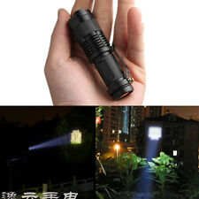 CREE Q5 R2 Mini Portable Stretch Focus LED Zoomable Flashlight Torch Lamp Light