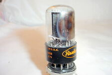 1959 RCA 6SN7GT Tube Black Plates Side D Getter Strong Testing