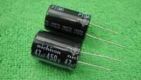 10 Electrolytic Capacitor 47uF 450V (PTM) 105C Radial