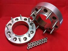"""8x200 Ford - 2007-17 Dually F350 WHEELS SPACERS ADAPTERS BILLET 2"""" HUB CENTRIC."""