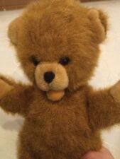 Bär alter Teddybär Antikspielzeug mit Sprachwerk 35 cm Heunec Plüsch Kuscheltier