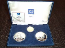 GREECE 2004 ATHENS OLYMPIC GAMES 2nd COIN FULL SET- PROOF