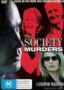 Society Murders, The - DVD - Australian Film - True Story - New & Sealed