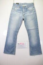 Lee Denver Bootcut (Cod. H1938)Tg48 W34 L36 jeans usato ACCORCIATO Vintage Zampa