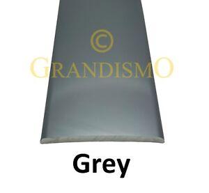 Stick-Down Flat Cover 37mm Tile to Tile - Floor, Wood Laminate Trim Strip Grey