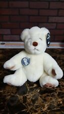 """1984 Gund Limited Edition Collector's Bear Gundy White 8"""" Poseable Euc"""