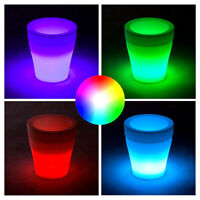 LED BLUMENTOPF | EISWÜRFELBEHÄLTER | EISKÜBEL FLASCHENKÜHLER | PFLANZKÜBEL KÜBEL