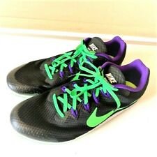 NIKE ZOOM Sz 12 Men's Running Track Shoes RIVAL D Excellent Condition Spikes
