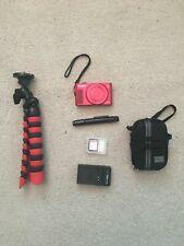 Canon PowerShot SX620 HS 20.2 MP Digital SLR Camera - Red + Extras