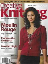Creative Knitting Magazine Moulin Rouge Elementals Pullover Hoodie Cardigan Bag