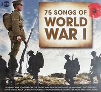 75 Songs Of WW1 - World War One - 3CD Set