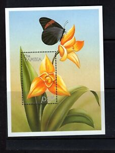 Gambia #2155  1999 Orchids sheet  VFMNH  CV $5.50