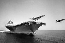 """Fighter Jets Aircraft Carrier USS Enterprise 11""""x 17"""" Vietnam War Poster 190"""