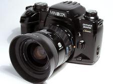 Minolta dynax 600si classic with Minolta AF zoom 28-80mm lens.