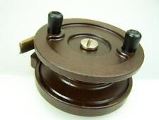 S & A Steelite bakelite fishing reel 95mm diameter