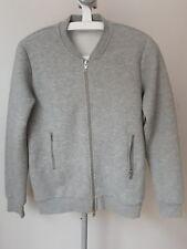 J Lindeberg Cardigan Jacket Coat JL S Small grey randall Herringbone quilt