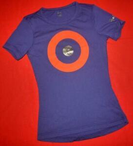 "Rapha Graphic Dark Blue Ladies ""Womens T-Shirt"" Tee Top Size XS"