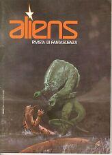 Rivista ALIENS RIVISTA DI FANTASCIENZA ANNO 1980  NUMERO 7