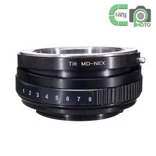 MD-NEX Tilt Adapter for Minolta MD Lens to Sony E A5100 A6000 A3000 5T 3 5N VG10