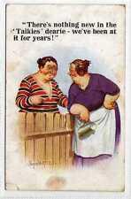 (La8462-100) Artist Signed, Neighbours, Garden Fence,  Used 1932 VG, McGill