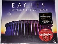 Eagles Live From the Forum MMXVIII Target Exclusive Tour Laminate [NEW 2CD]