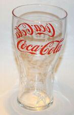 Coca-Cola Original Glass - Red Coca Cola & White Stars
