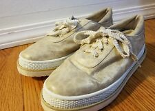 Stuart Weitzman Glimmer Animal Print Tennis Shoes Sz 8M