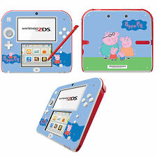 Peppa PIG Vinyle Peau Sticker Pour Nintendo 2DS