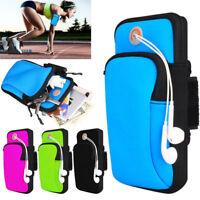 Sports Running Jogging Gym Armband Arm Band Holder Bag For Mobile Phones Keys