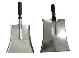 Metal Hand Galvanised Shovel Coal Garden In&Outdoor Extra Strong Plastic Handle