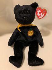 TY Beanie Baby - HAUNT the Halloween Decoration Bear Stuffed Animal Pristine New