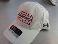 UNDER ARMOUR Indian Wells Golf Resort Adjustable Hat White New UA22