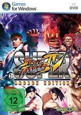 PC Computer Spiel ***** Super Street Fighter IV 4 Arcade Edition ********NEU*NEW