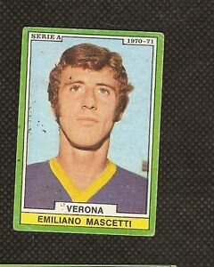 Figurina Calciatori Edis 1970-71! Mascetti Verona! Ottima!!
