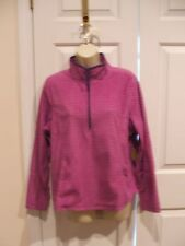 NWT MADE FOR LIFE PURPLE PLUSH ZIP FRONT JACKET TOP SIze  PETITE LARGE