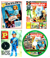 Lady Penelope 32 Issues PDF on DVD Thunderbirds, Bewitched, Monkees