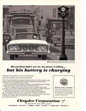 1961 DODGE DART ~ ORIGINAL PRINT AD