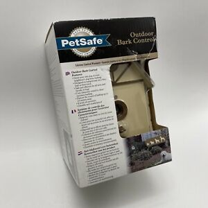 New & Sealed PetSafe Outdoor Dog Automatic Anti Bark Control Birdhouse
