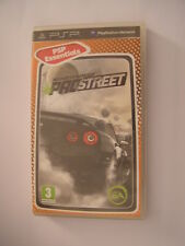 jeu PSP need for speed prostreet